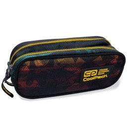 3ccdd0ae84529 Two-chamber school pencil case CoolPack Clever Hyde 10995CP No. B65097