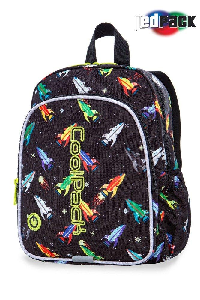 School backpack Coolpack Bobby LED Rockets 22714CP A23207 - Plecaki ... 2187b03dc8f92