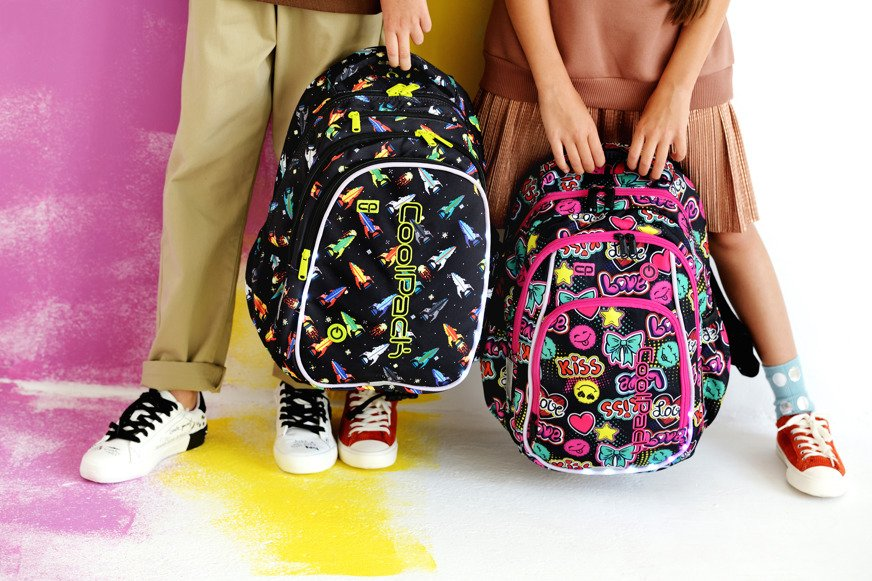 05acff0d521 School backpack Coolpack Joy M LED Cartoon 94368CPA20200 - Plecaki ...