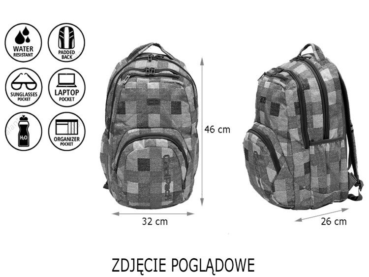 d4ad8dc626b91 Click to zoom · School backpack Coolpack Smash Motion Check 68970CP nr 890  Click to zoom · School backpack Coolpack Smash Motion Check ...