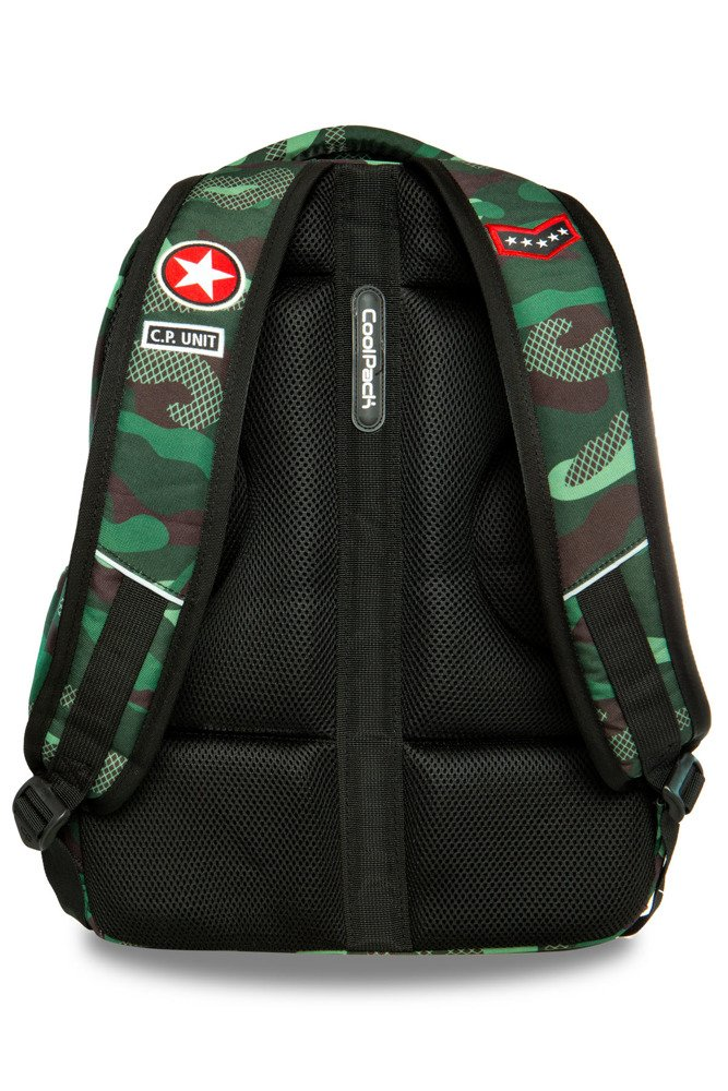 e9e2f0606dd13 ... Set Coolpack Camo Green Badges - Bentley backpack and Campus pencil  case Click to zoom ...
