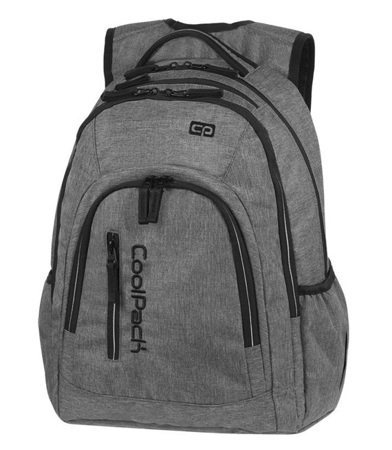 School backpack Coolpack Mercator Plus Snow Grey/Silver 88275CP nr A311