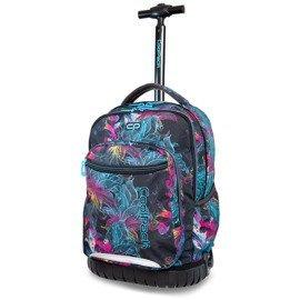 fb8bf5e7a1c86 Plecak młodzieżowy na kółkach CoolPack Swift Vibrant Bloom 34427CP nr B04017