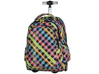 d493dcfe99850 Plecak szkolny na kółkach Coolpack Junior Colour Check 61025CP nr 526
