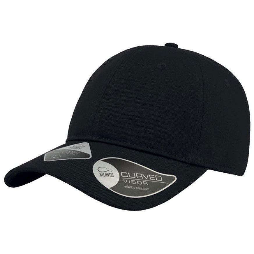 Czapka z daszkiem bejsbolówka GREEN CAP BLACK