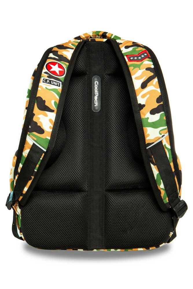 1b03d2efdb699 Kliknij, aby powiększyć; Plecak młodzieżowy Coolpack Bentley Camo Desert  Badges 23551CP A16109