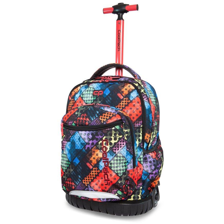 241596bca5d01 Kliknij, aby powiększyć; Plecak młodzieżowy na kółkach CoolPack Swift Blox  33864CP nr B04014