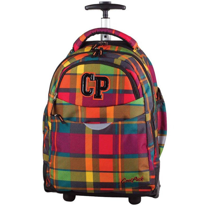 a8748d4a4cd98 Kliknij, aby powiększyć · Plecak młodzieżowy na kółkach Coolpack Rapid  Sunset Check 76784CP nr 618 Kliknij ...