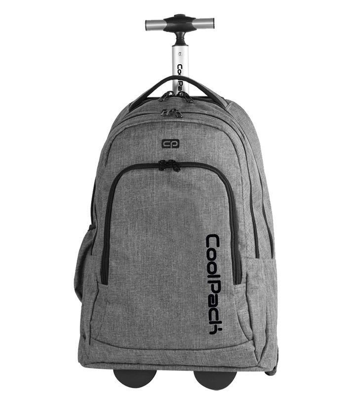 7595729e53960 ... Plecak młodzieżowy na kółkach Coolpack Summit Snow Grey 75961CP nr 844  Kliknij
