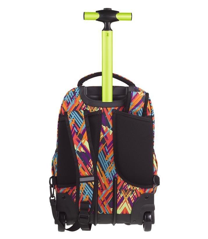 3318ebcccdfab Kliknij, aby powiększyć; Plecak młodzieżowy na kółkach Coolpack Swift Color  Vibes 85011CP ...