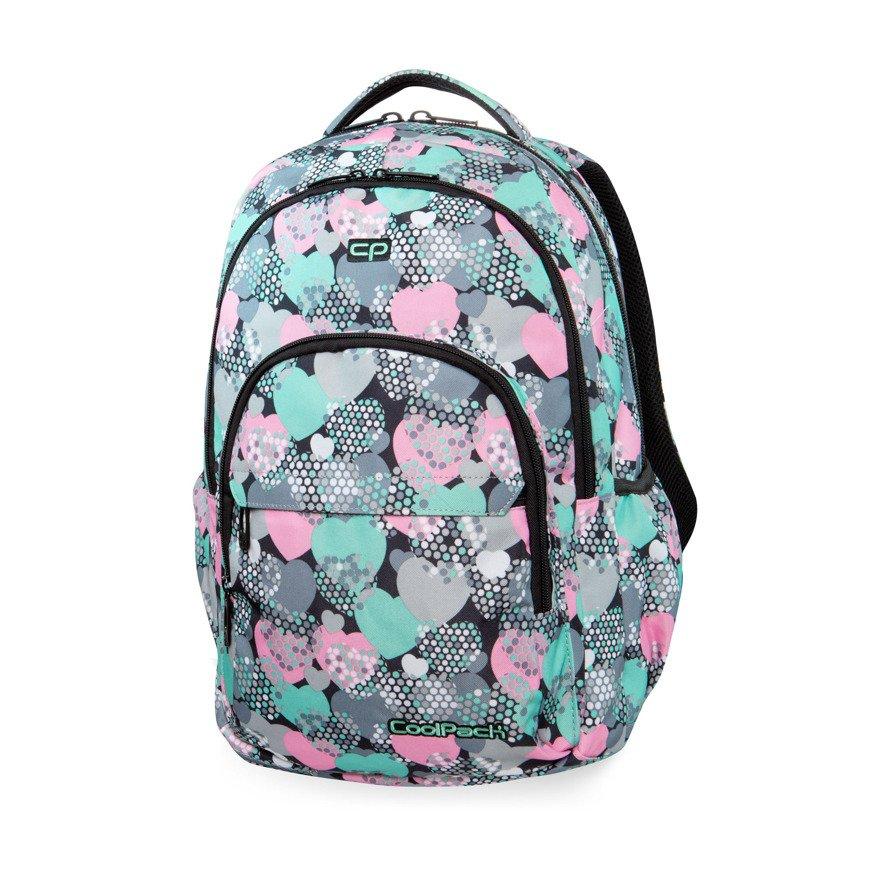 f554524a57b86 Plecak młodzieżowy szkolny CoolPack Basic Plus Minty Hearts 34588CP ...