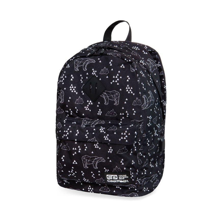 066b210e4d9c0 Kliknij, aby powiększyć; Plecak młodzieżowy szkolny CoolPack Cross Polar  Bears 31327CP nr B26051
