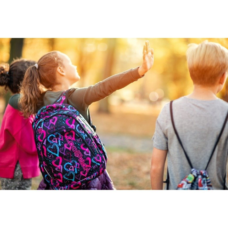 46298c682f22e Kliknij, aby powiększyć; Plecak młodzieżowy szkolny CoolPack Prime Origami  29195CP nr B25042