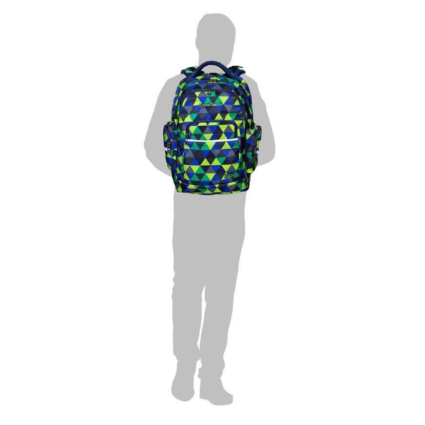 e297db6b257b5 ... Plecak szkolny Coolpack Brick Color Fusion Navy 83918CP nr A542  Kliknij
