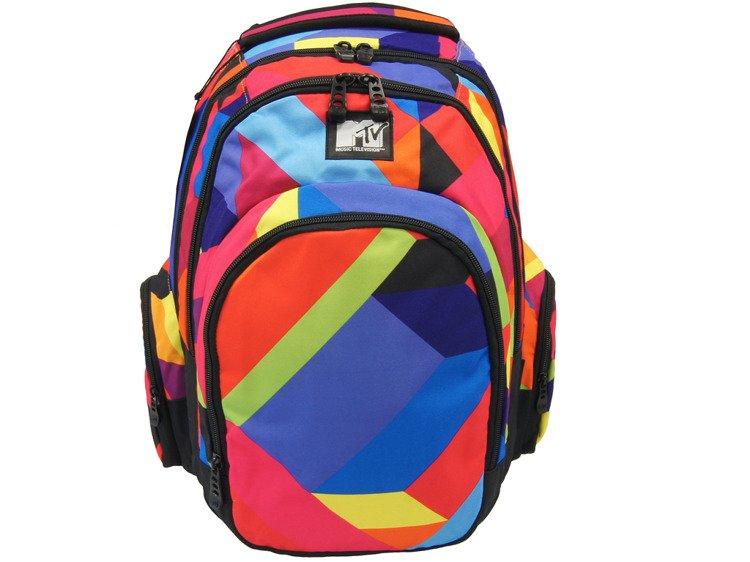 03f3071fdf9dd Plecak szkolny Coolpack Brit Color MTV 54997CP - Plecaki   Plecaki ...