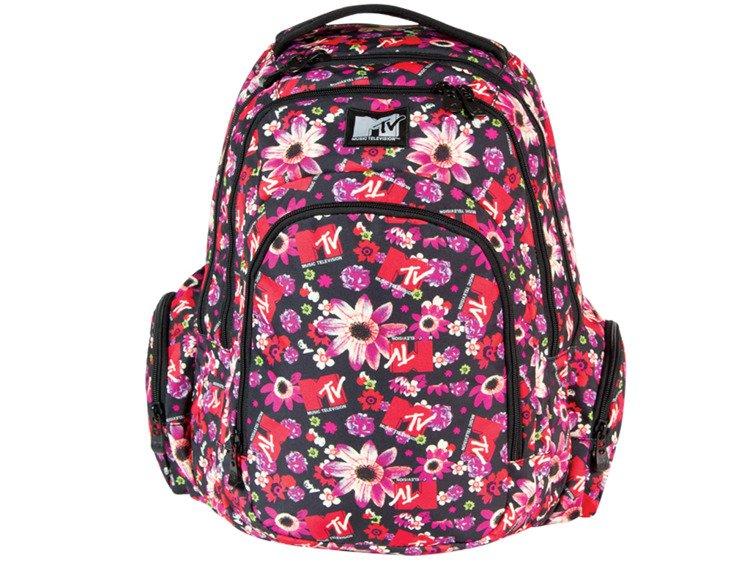 c48d43848a3b1 Plecak szkolny Coolpack Brit Flowers MTV 55079CP - Plecaki \ Plecaki ...