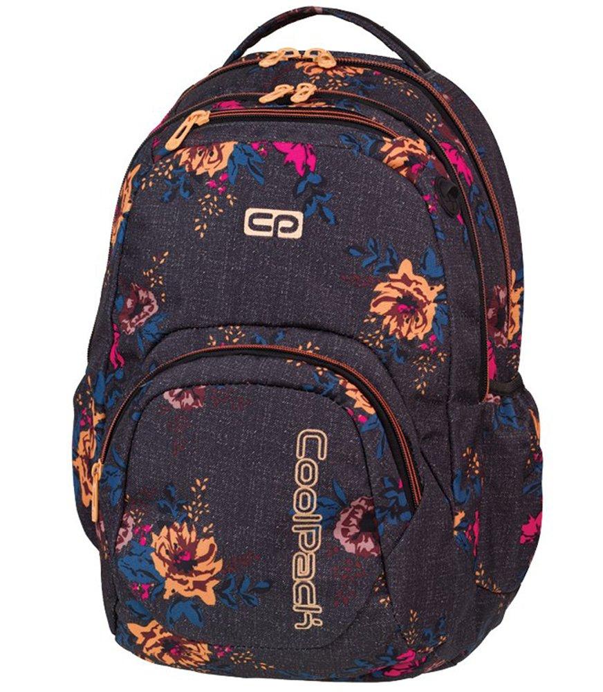 1a806e90d8594 Plecak szkolny Coolpack Smash Denim Flowers 80149CP nr 1066 Kliknij