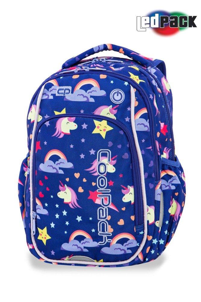 7cd827c909e54 Kliknij, aby powiększyć; Plecak szkolny Coolpack Strike S LED Unicorns  94825CP A18208 Kliknij, aby powiększyć ...