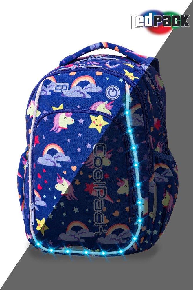 0f8aec065d568 Plecak szkolny Coolpack Strike S LED Unicorns 94825CP A18208 Kliknij, aby  powiększyć ...