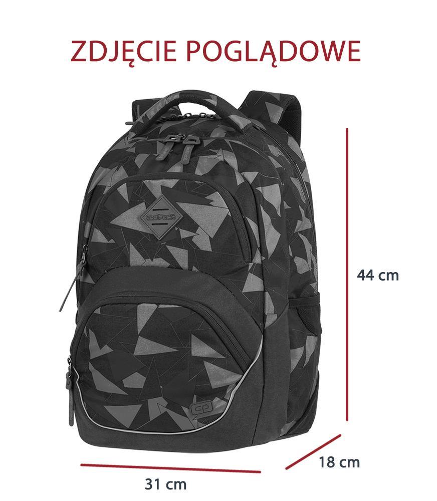 7929b0bbe9c2b Plecak szkolny Coolpack Viper Camo Green 81112CP nr A579 - Plecaki ...