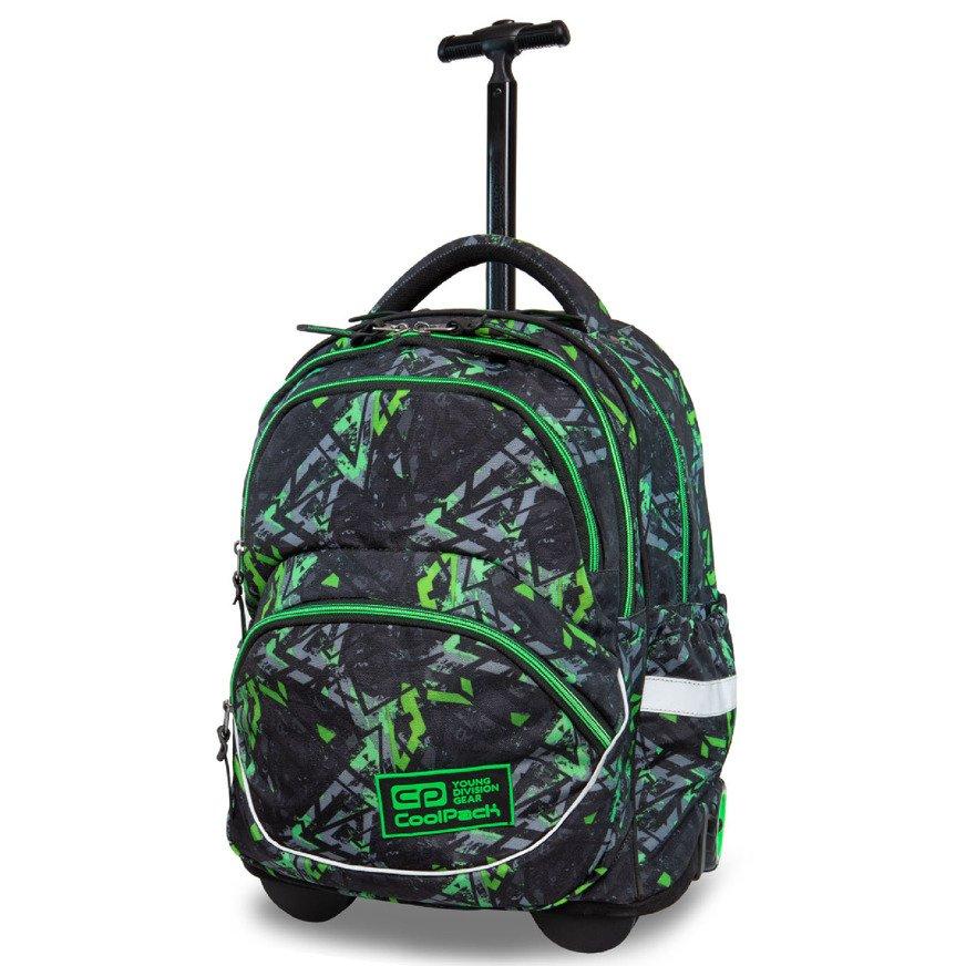 bf231b685d9d7 Kliknij, aby powiększyć; Plecak szkolny na kółkach CoolPack Starr Electric  Green 21229CP nr B35099