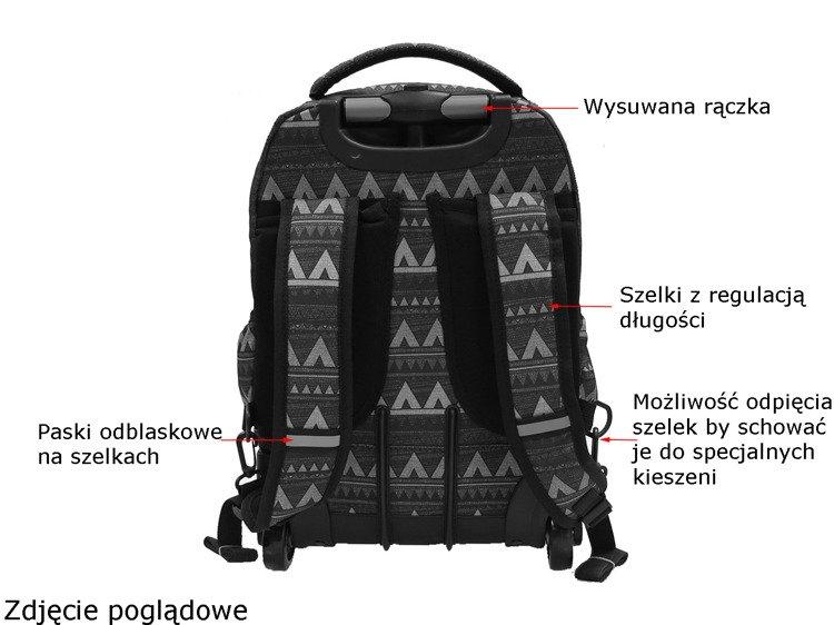 df73d51bb6ecb ... Plecak szkolny na kółkach Coolpack Swift Plumes 70898CP nr 964 Kliknij