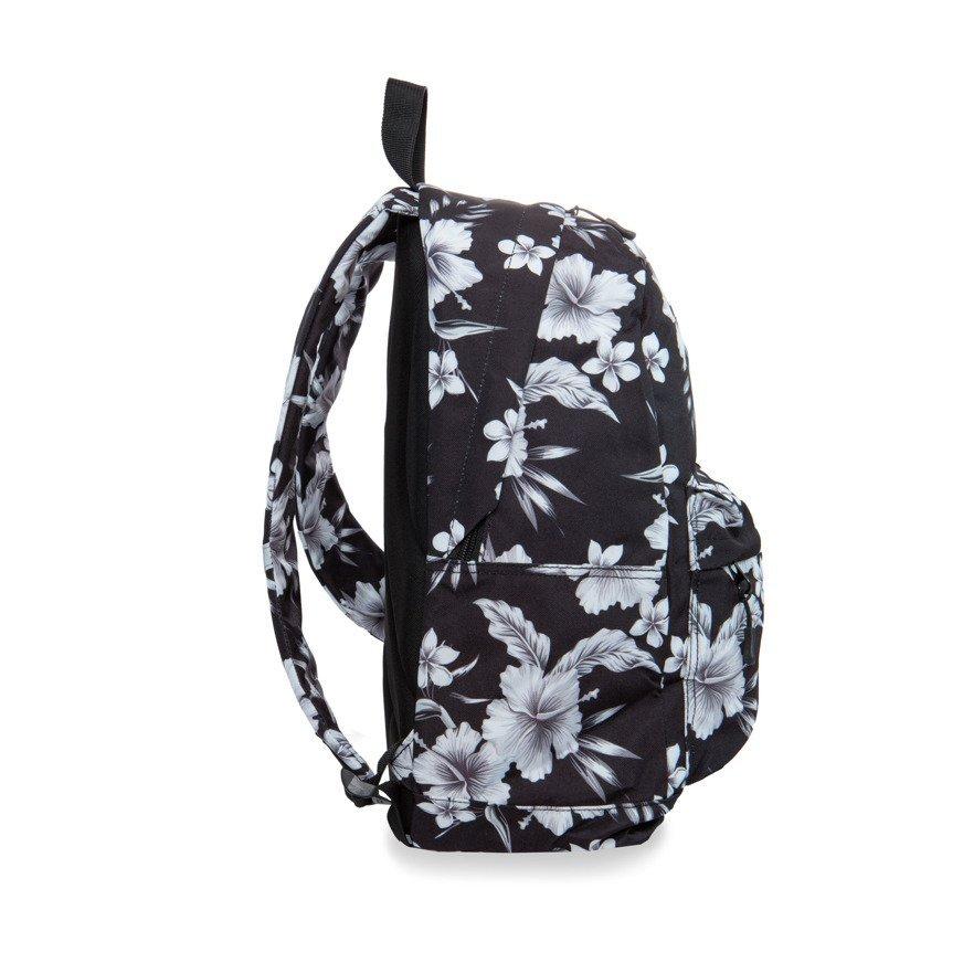 Zestaw Coolpack White Hibiscus plecak Cross i piórnik Clever