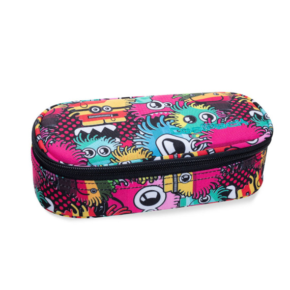 Piórnik szkolny CoolPack Campus Wiggly Eyes Pink 30528CP nr B62047