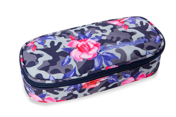 Piórnik szkolny Coolpack Campus Camo Roses 96751CP A62209