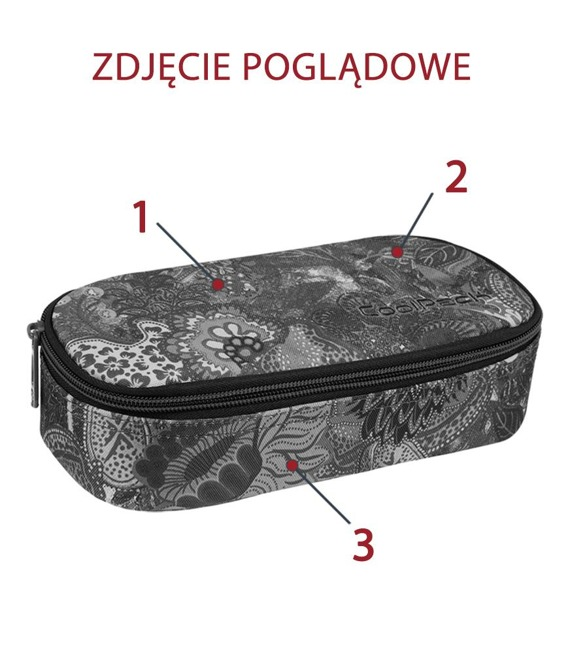 Piórnik szkolny Coolpack Campus Lilies 85455CP nr A024