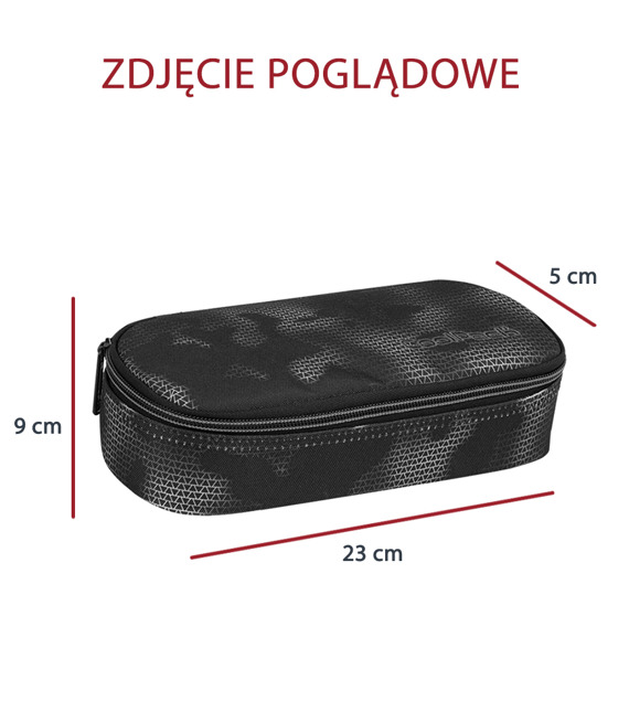 Piórnik szkolny Coolpack Campus Monochromatic 75541CP nr 830