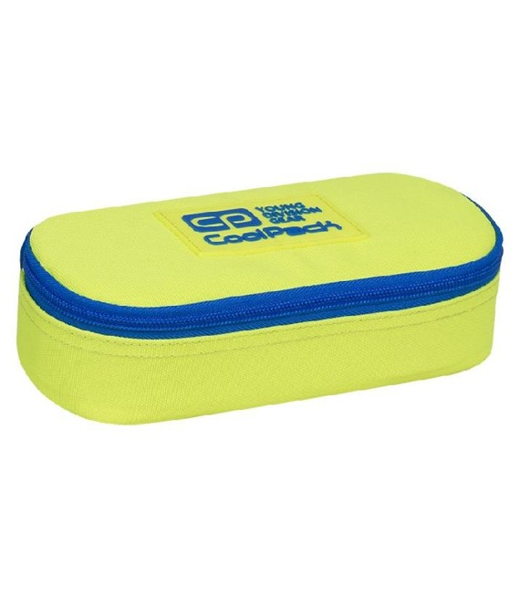 Piórnik szkolny Coolpack Campus Neon Yellow 93125CP nr A459