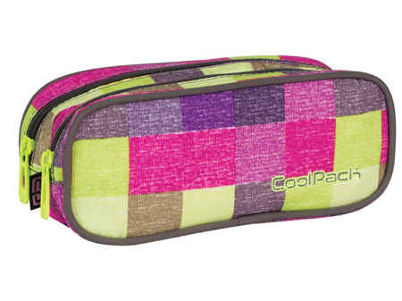Piórnik szkolny Coolpack Clever Multicolor shades 63920CP nr 407
