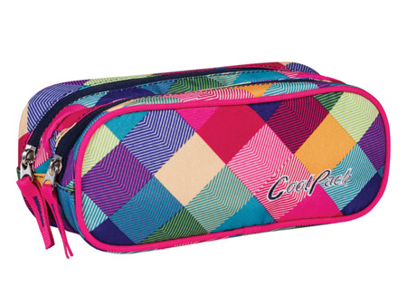 Piórnik szkolny Coolpack Clever Patchwork 59770CP nr 478