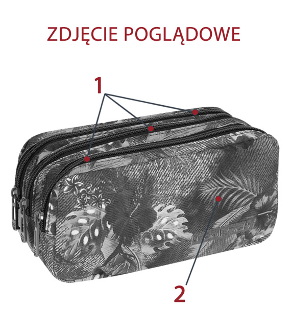 Piórnik szkolny Coolpack Primus Abstract 71659CP nr 992