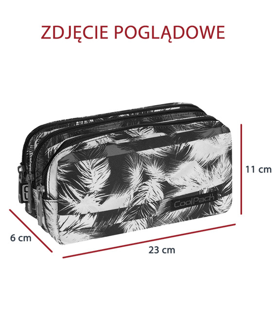 Piórnik szkolny Coolpack Primus Palm leaves 71109CP nr 972