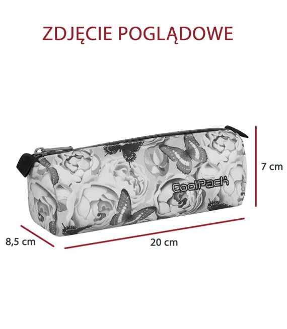 Piórnik szkolny tuba Coolpack Tube Flower Explosion 86544CP nr A067