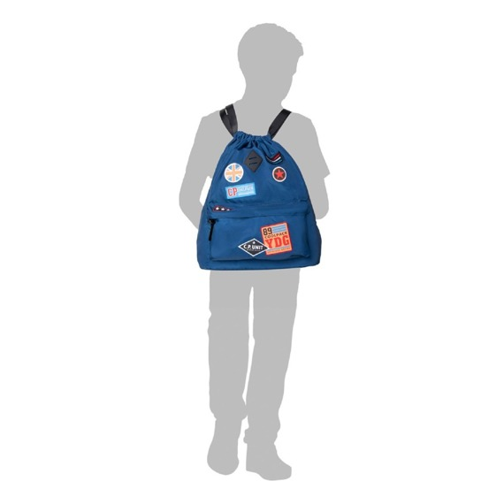 Plecak miejski CoolPack Urban Badges Girls Black 38487CP nr B73056
