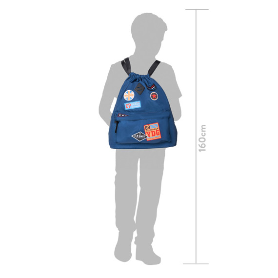 Plecak miejski CoolPack Urban Girls Badges Denim 38494CP nr B73057