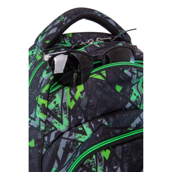 Plecak szkolny CoolPack Vance Electric Green 21205CP nr B37099