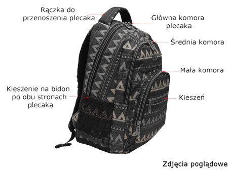 Plecak szkolny Coolpack Basic Motion check 68987CP nr 891