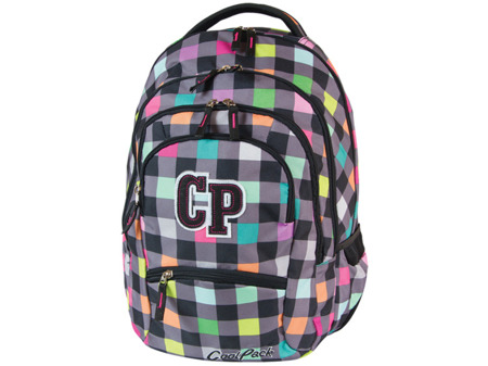 Plecak szkolny Coolpack College Pastel check 47135CP nr 121