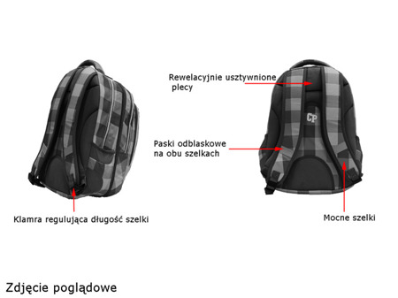 Plecak szkolny Coolpack Combo 37228CP nr N042