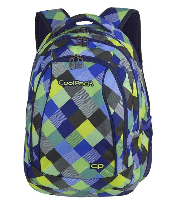 Plecak szkolny Coolpack Combo Blue Patchwork 81709CP nr A499