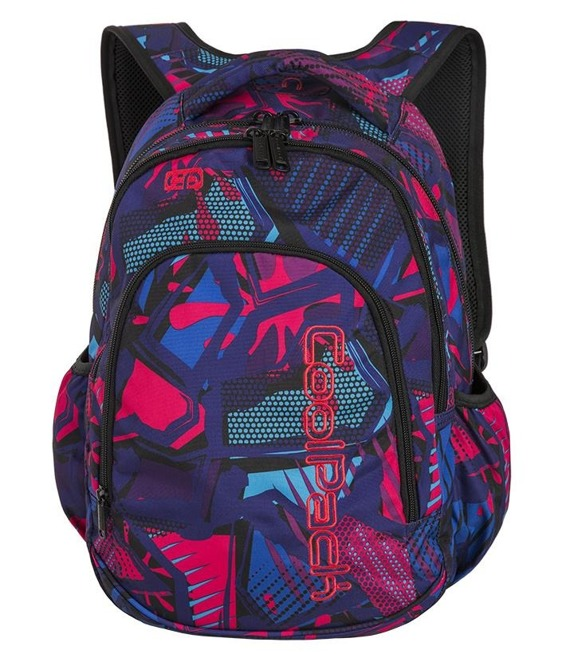 Plecak szkolny Coolpack Prime Crazy Pink Abstract 87612CP nr A286
