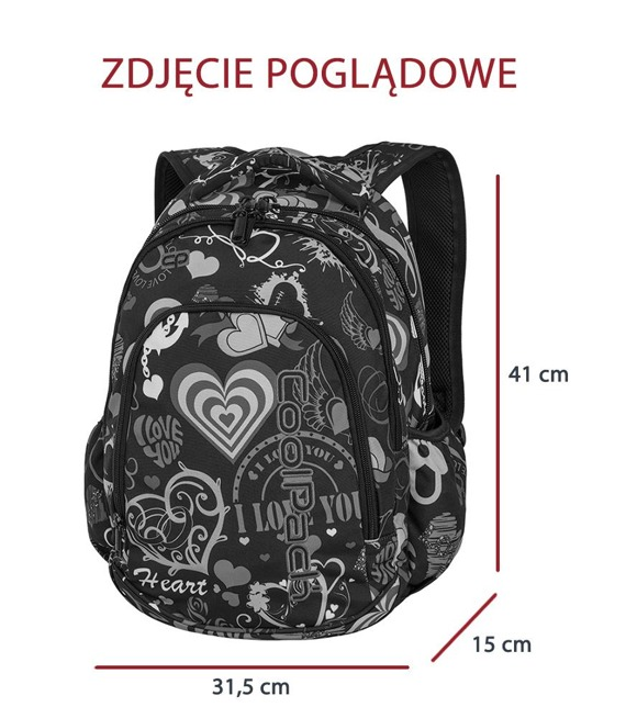 Plecak szkolny Coolpack Prime Free Style 84673CP nr A179