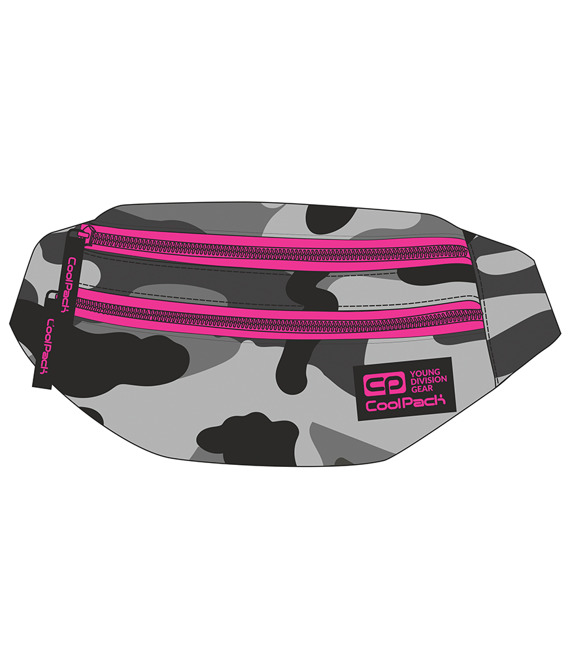 Saszetka nerka Coolpack Madison Camo Pink Neon 92777CP nr A364