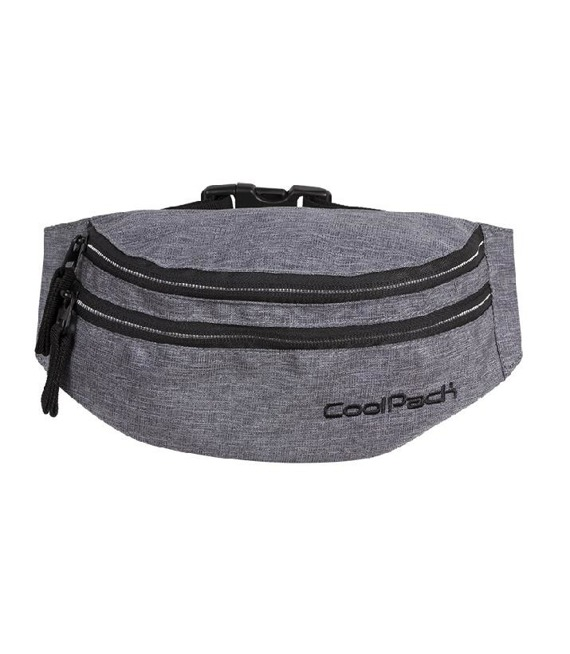 Saszetka nerka Coolpack Madison Snow Grey/Silver 88374CP nr A315
