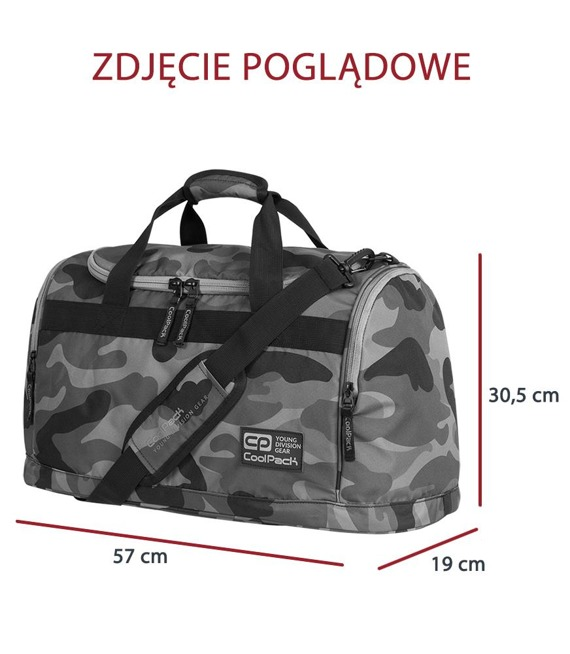 Torba sportowa Coolpack Fitt Camouflage Classic 91756CP nr A389