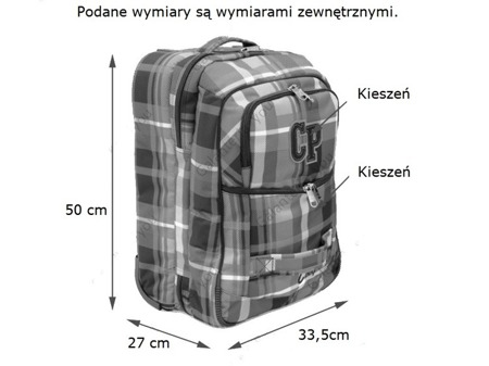 Walizka Coolpack Escape Stratford 45582CP nr 45